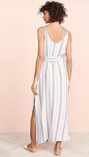 Bella Dahl Striped Belted Dress