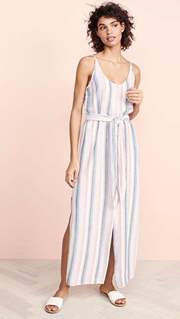 Bella Dahl Striped Belted Dress