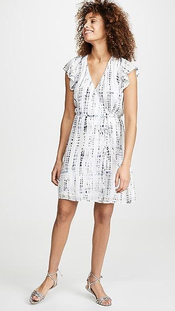 Bella Dahl Flutter Sleeve Wrap Dress