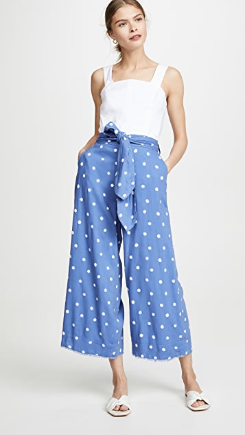 Bella Dahl Belted Crop Pants