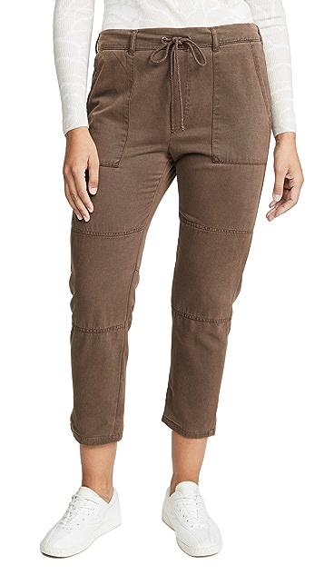 Bella Dahl Seamed Patch Pocket Pants