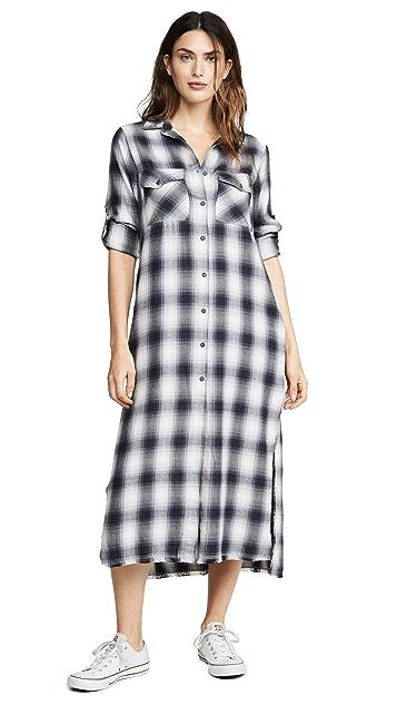 Bella Dahl 衬衣式长连衣裙