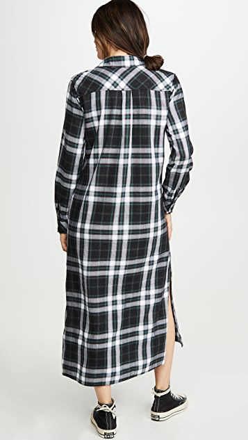 Bella Dahl Frayed Duster Dress