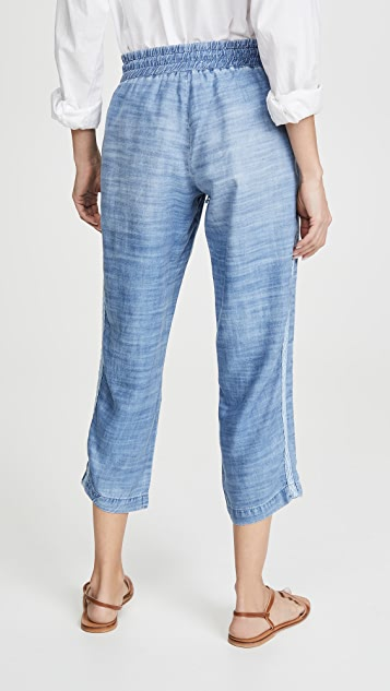 Bella Dahl Pull On Chambray Pants
