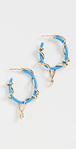 Bea Bongiasca - Baby Vine Wrapped Hoops