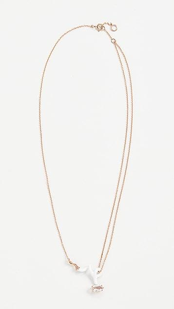 Bea Bongiasca Baby Vine Curl Pendant