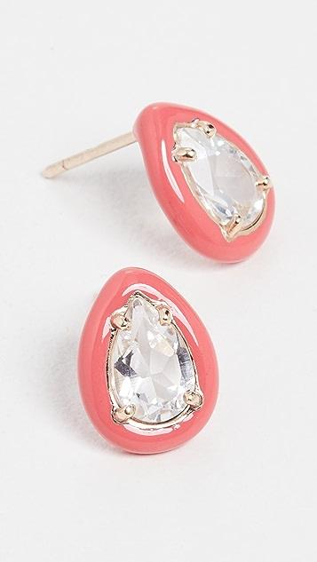 Bea Bongiasca Gum Drop Earrings