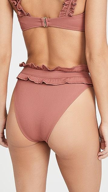 海滩蓝 Ivy 比基尼式内裤