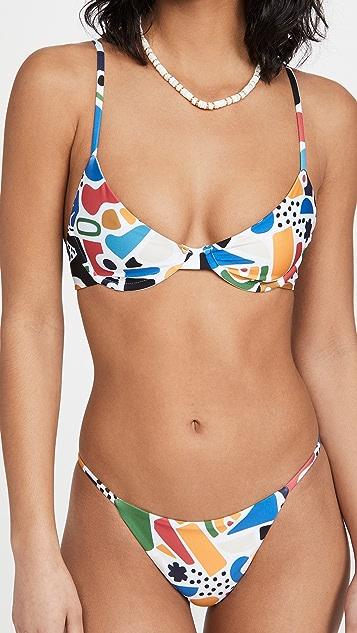 Beach Riot Camilla Bikini Top