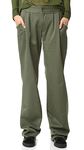 Baja East Canvas Pants