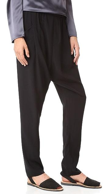 Baja East Drop Crotch Pants