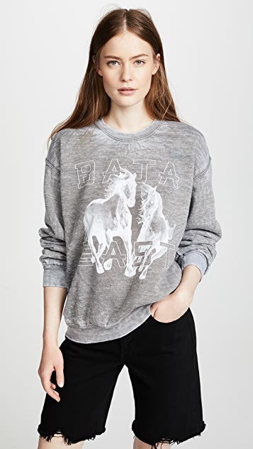Baja East Printed Sweatshirt