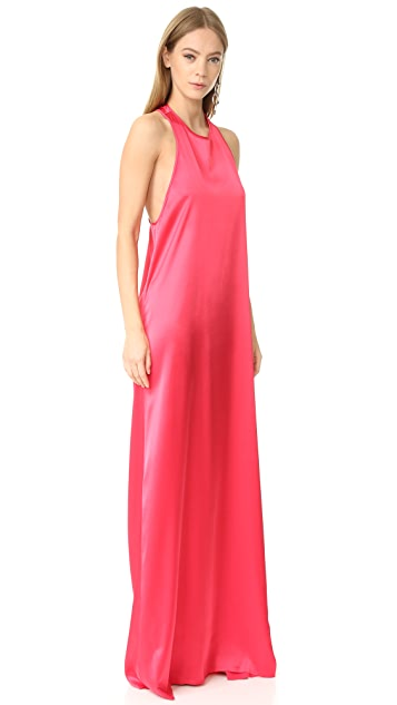 Baja East Sleeveless Maxi Dress