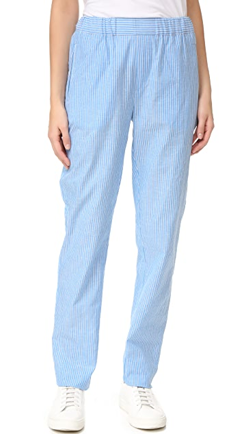 Baja East Striped Pants