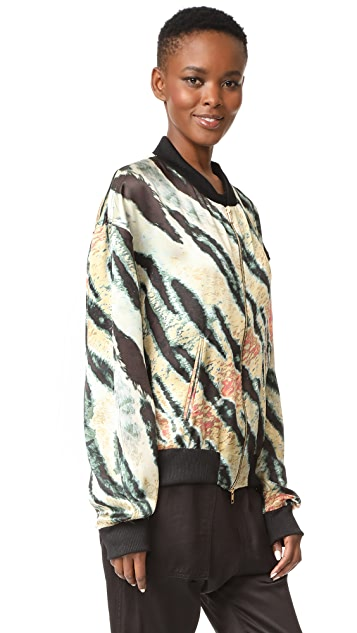 Baja East Tiger Print Jacket