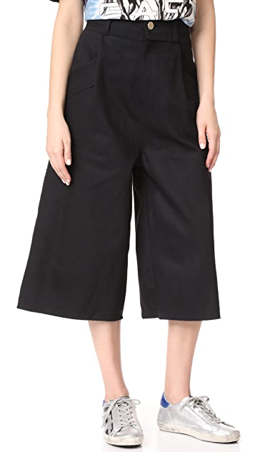 Baja East Denim Skater Pants