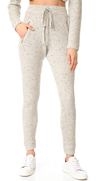 Baja East Cashmere Ankle Joggers