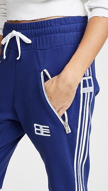 Baja East Embroidered Sweatpants