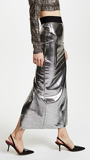 Baja East Long Skirt with Slit