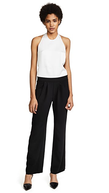 Baja East Halter Neck Jumpsuit