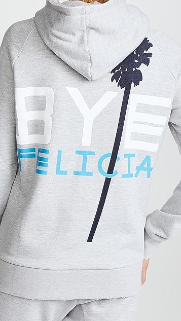 Baja East Bye Felicia Zip Hoodie