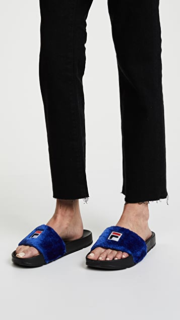 brand new unisex for sale Baja East Fila X Baja slides buy cheap ebay free shipping shop outlet order online discount codes clearance store hQbHj