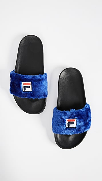 Baja East x FILA Slides