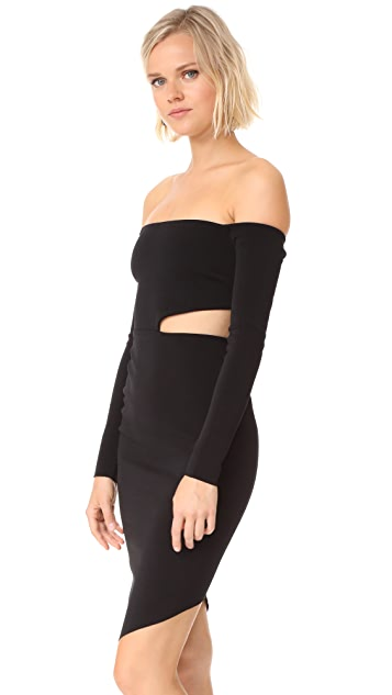Bec & Bridge Salt Lake Long Sleeve Dress