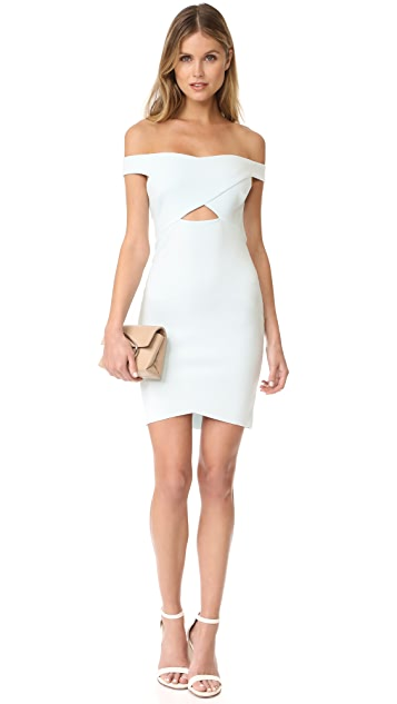 Bec & Bridge Desert of Paradise Off Shoulder Mini Dress