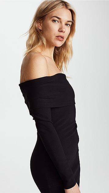 Bec & Bridge Auriele Off Shoulder Dress