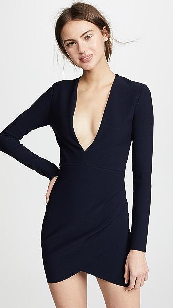 Bec & Bridge Marvellouse Plunge Dress - Ink