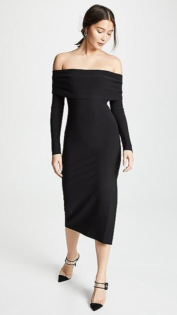 Bec & Bridge Платье с открытыми плечами Elle