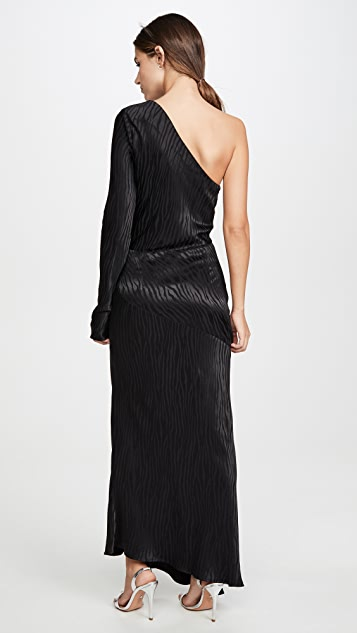 Bec & Bridge The Kat Asymmetrical Midi Dress