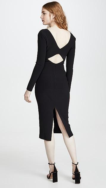 Bec & Bridge Ulla Cut Out Midi Dress