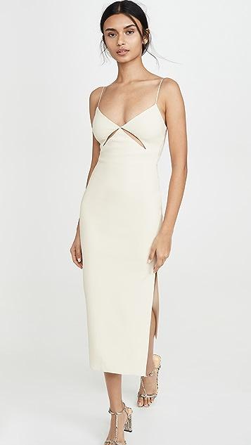 Bec & Bridge Dresses Ulla Cut Out Midi Dress