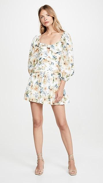 Bec & Bridge Мини-платье Fleurette