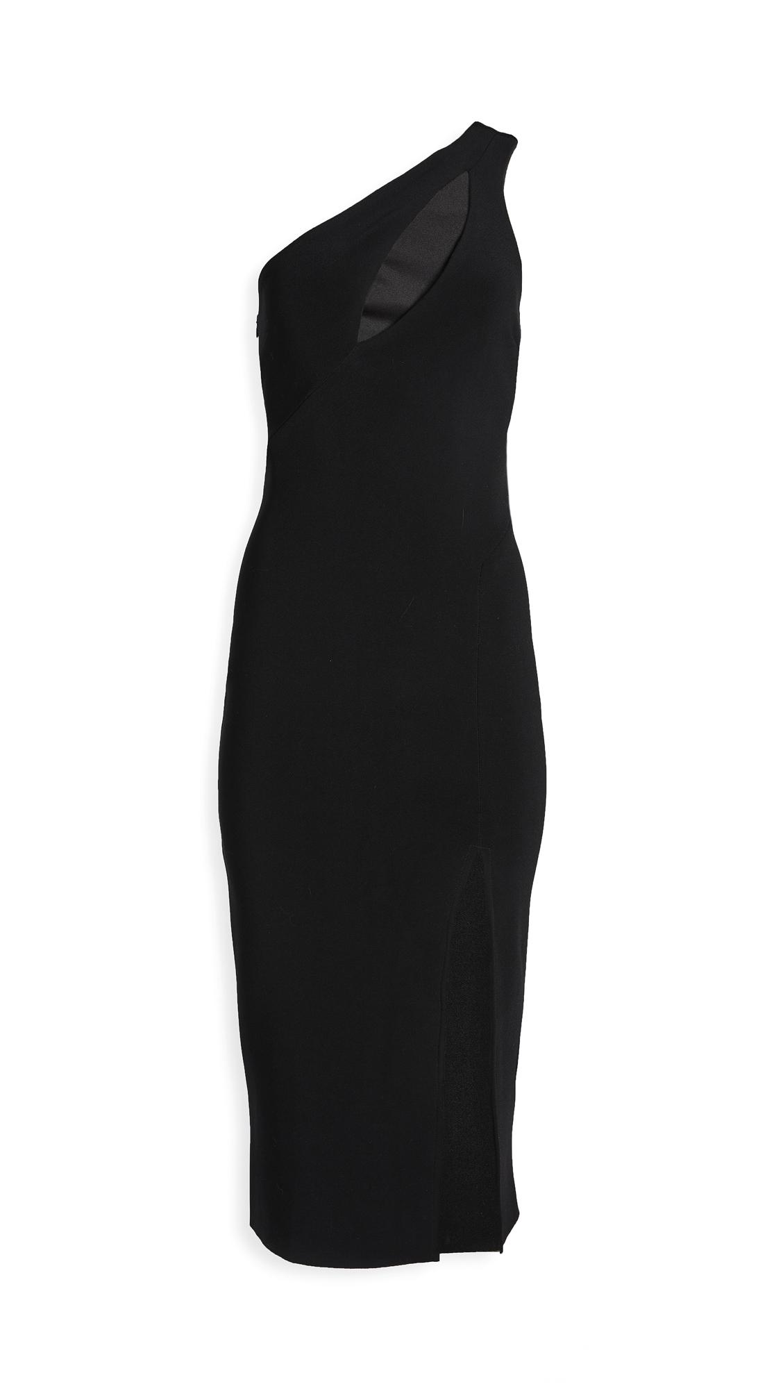 Bec & Bridge Emerald Avenue Asymmetric Midi Dress
