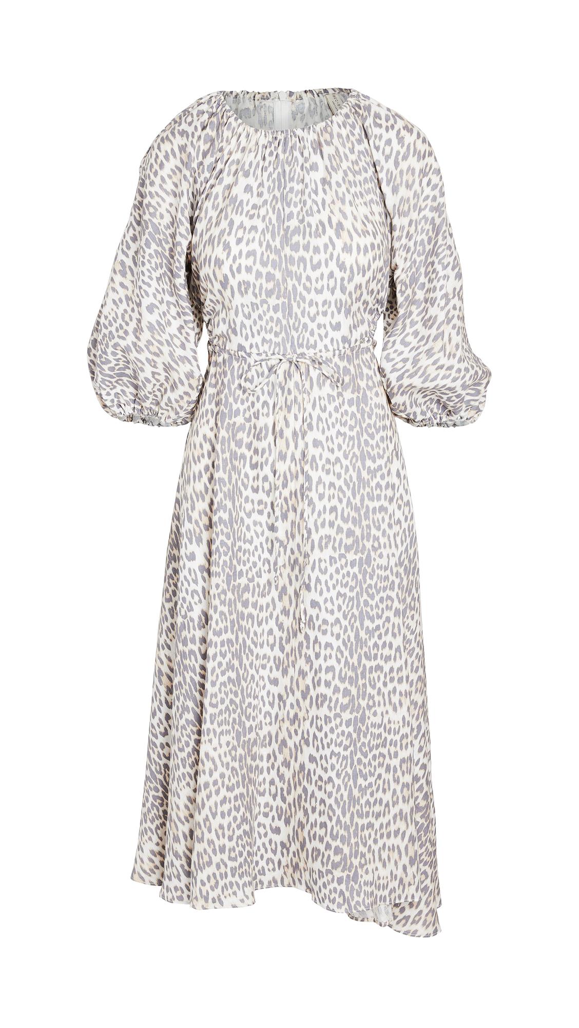 Bec & Bridge Ocelot Midi Dress