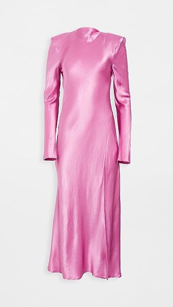 Bec & Bridge Lucie Long-Sleeve Midi Dress