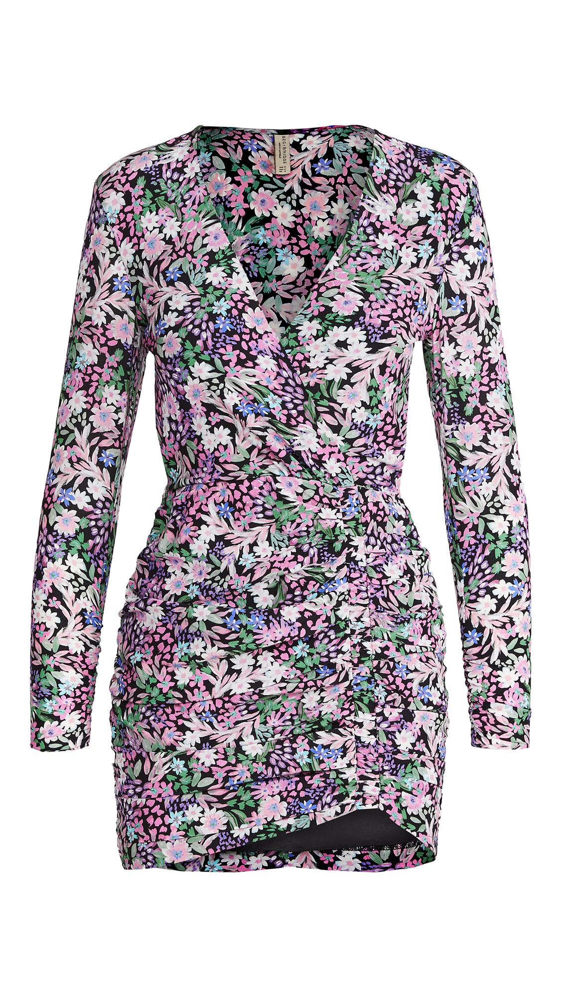Bec & Bridge Anais Wrap Mini Dress