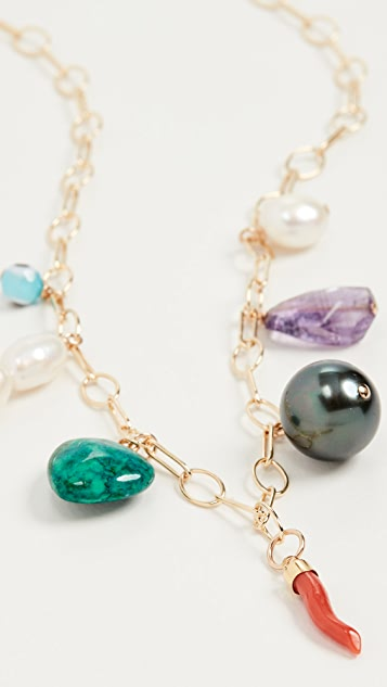 Beck Jewels Off The Grid Charm Chain Necklace