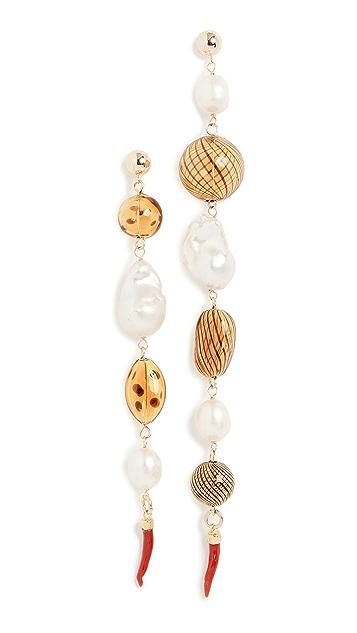 Beck Jewels Bohemia Shoulder Duster Earrings