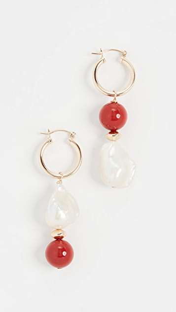 Beck Jewels Carallo Totem 圈式耳环