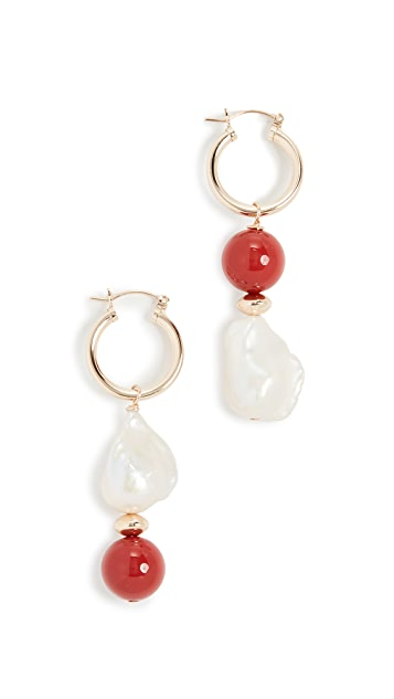Beck Jewels Carallo Totem Hoops
