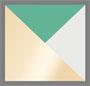 Gold/Pearl/Malachite