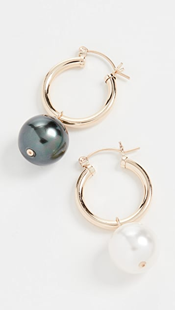 Beck Jewels Agra Hoop Earrings