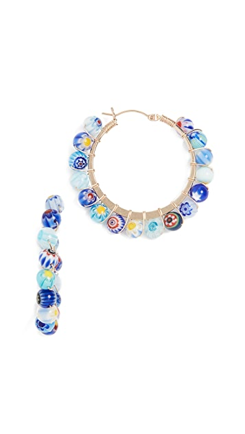 Beck Jewels Dahlia Hoops