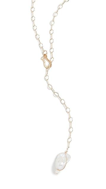Beck Jewels 巴洛克珍珠锚形链条
