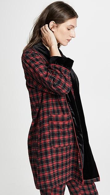 BedHead Pajamas American Plaid Robe