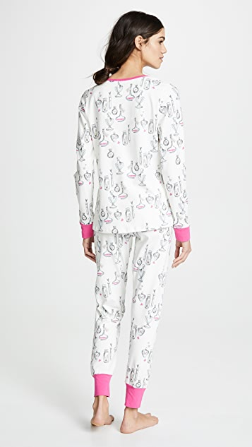 BedHead Pajamas Love Potion Henley PJ Set
